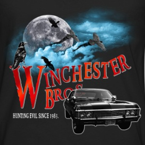 Winchester Bros Hunting Evil Since 1983 1967 chevr Kids' Shirts - Men's Premium Long Sleeve T-Shirt