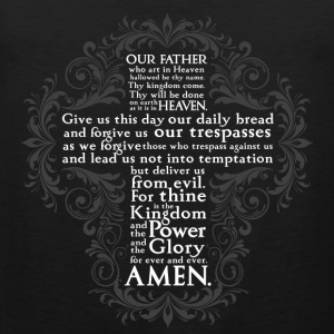 Lord's Prayer - Children's - Men's Premium Tank