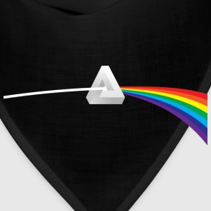 Dark Side Of Escher's Moon T-Shirts - Bandana