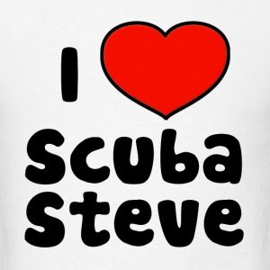 I Love Scuba Steve Hoodies - Men's T-Shirt