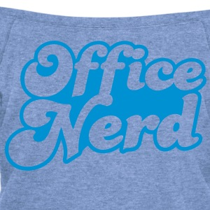 office nerd T-Shirts - Women's Wideneck Sweatshirt