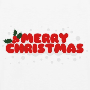 Merry Christmas Polo Shirts - Men's Premium Tank
