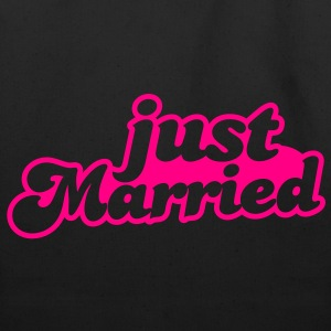 Just Married Women's T-Shirts - Eco-Friendly Cotton Tote