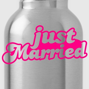 Just Married Women's T-Shirts - Water Bottle