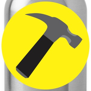 Captain Hammer v1 Raster - Water Bottle