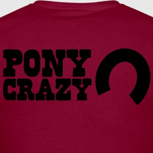 pony crazy Hoodies - Men's T-Shirt
