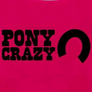 pony crazy Hoodies - Women's Premium Tank Top