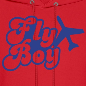 FLY BOY airline pilot captain officer flight Women's T-Shirts - Men's Hoodie