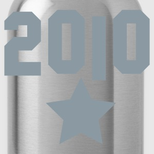 2010 silver star Hoodies - Water Bottle