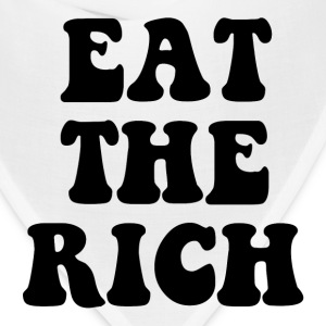 Eat The Rich Occupy Wall Street Hoodies - Bandana