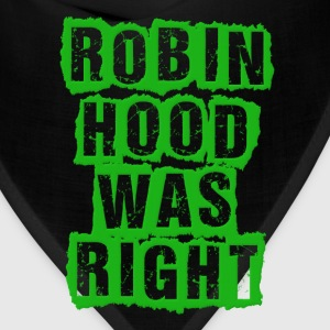 Robin Hood Was Right Occupy Protests Kids' Shirts - Bandana