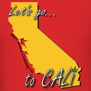 Let's Go to CALI - Men's T-Shirt