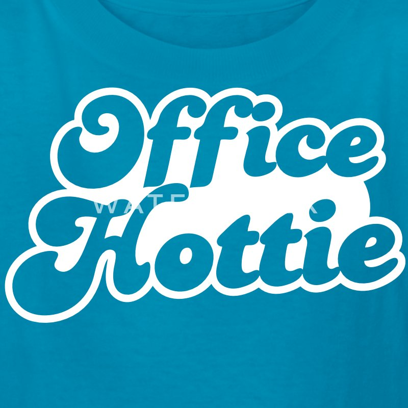 office hottie (could be NSFW) Kids' Shirts - Kids' T-Shirt