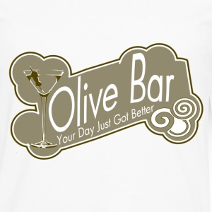 Olive Bar - Men's Premium Long Sleeve T-Shirt