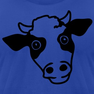 cow Hoodies - Men's T-Shirt by American Apparel