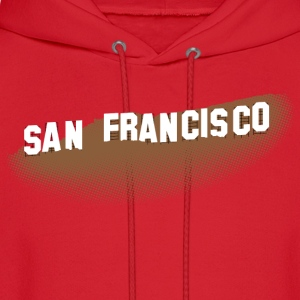 San Francisco Hollywood Sign T-shirt - Men's Hoodie