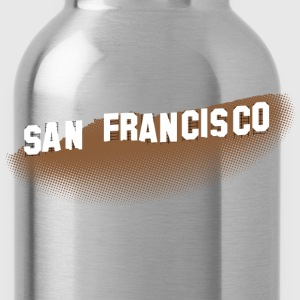 San Francisco Hollywood Sign T-shirt - Water Bottle