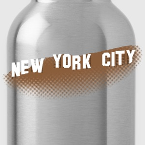 New York Hollywood Sign T-shirt - Water Bottle