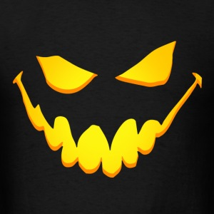 Scary pumpkin face Hoodies - Men's T-Shirt
