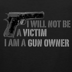 Gun owner ladies hoodie - Men's Premium Tank
