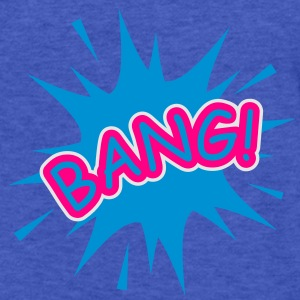 A comic balloon with a Bang Sweatshirts - Fitted Cotton/Poly T-Shirt by Next Level