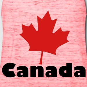 Canada Bags  - Women's Flowy Tank Top by Bella