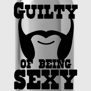 guilty of being sexy mutton chops T-Shirts - Water Bottle