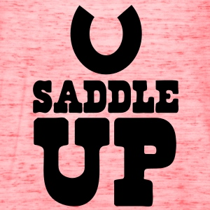 SADDLE UP T-Shirts - Women's Flowy Tank Top by Bella