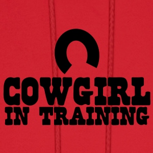 cowgirl in training - horseshoe Baby Bodysuits - Men's Hoodie