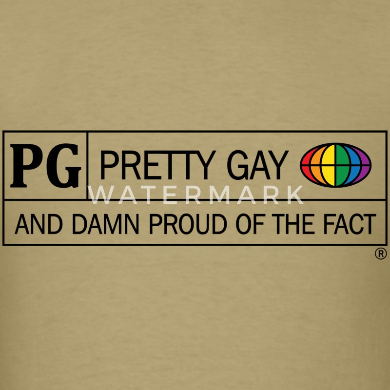 Pretty Gay T-Shirts - Men's T-Shirt