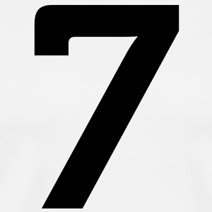 Number 7 (1c)++ Hoodies - Men's Premium T-Shirt