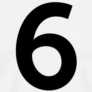 Number 6 (1c)++ Hoodies - Men's Premium T-Shirt