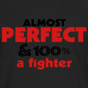 Perfect and Fighter - Men's Premium Long Sleeve T-Shirt