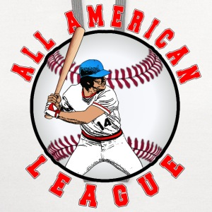 BaseBall All American League 2 T-Shirts - Contrast Hoodie