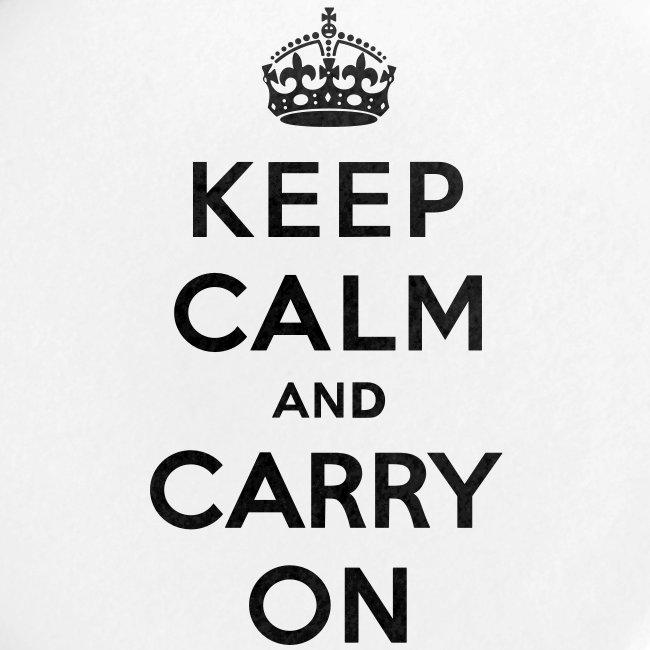 Keep Calm and Carry On Ladies Sweatshirt