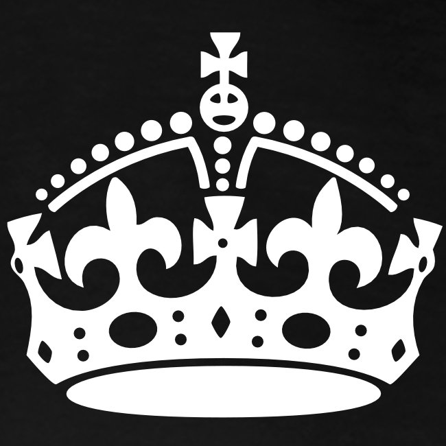 Keep Calm and Carry On Crown