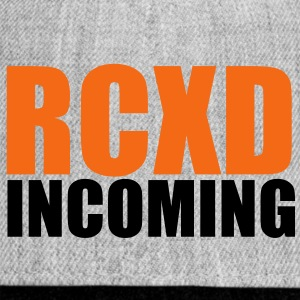 RCXD INCOMING Hoodies - Snap-back Baseball Cap