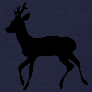 Reo Deer Buck Long Sleeve Shirts - Men's T-Shirt