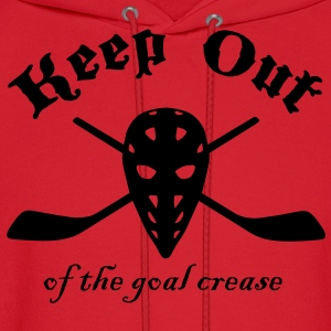Keep Out (Of The Goal Crease) Kids' Shirts - Men's Hoodie