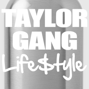 Taylor Gang Lifestyle T-Shirts - stayflyclothing.com  - Water Bottle