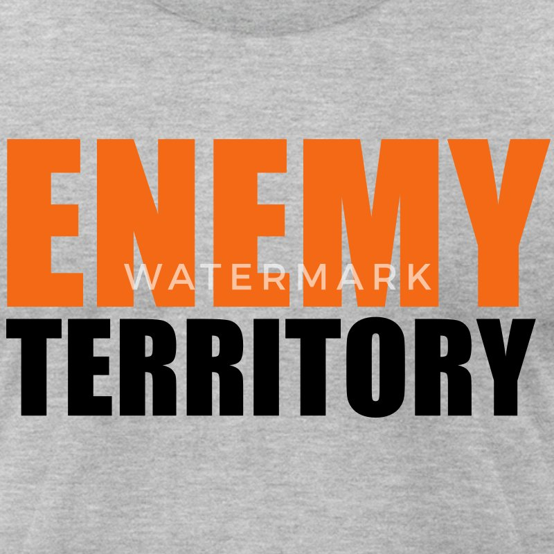 ENEMY TERRITORY T-Shirts - Men's T-Shirt by American Apparel