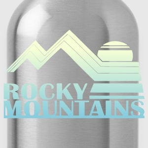 Rocky Mountains Vintage Tee - Water Bottle