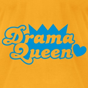 drama queen with love heart Bags  - Men's T-Shirt by American Apparel
