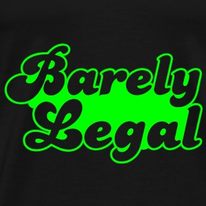barely legal Bags  - Men's Premium T-Shirt