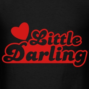 little darling with cute little love heart Bags  - Men's T-Shirt