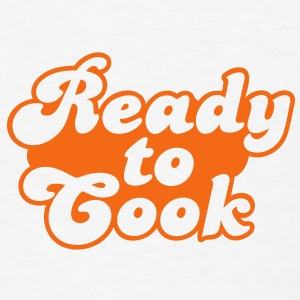 ready to cook Buttons - Men's T-Shirt