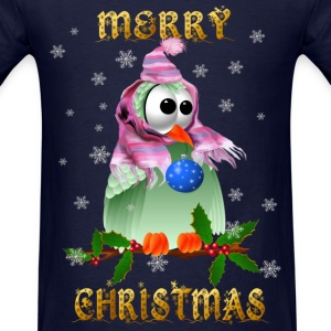 Christmas Decoration Birds - Men's T-Shirt