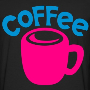 Coffee with cup cute! Women's T-Shirts - Men's Premium Long Sleeve T-Shirt
