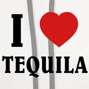 I Love Tequila Women's T-Shirts - Contrast Hoodie