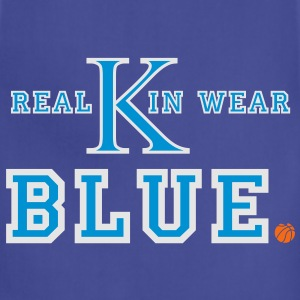 UK Wildcats Basketball - Real Kin Wear Blue T-Shirts - Adjustable Apron